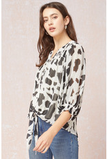 The A Whole Lot Of Detail Printed Blouse