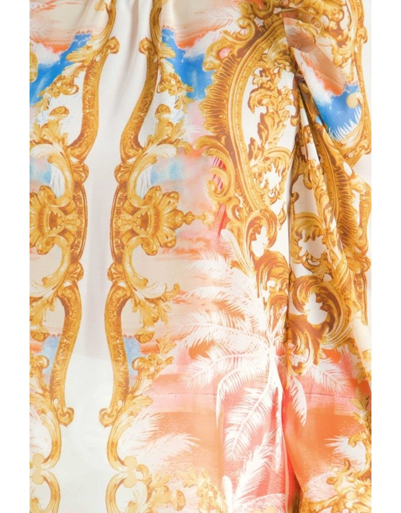 The Baroque Printed Blouse