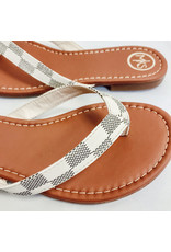 The Brooklyn Check Flip Flop Sandal