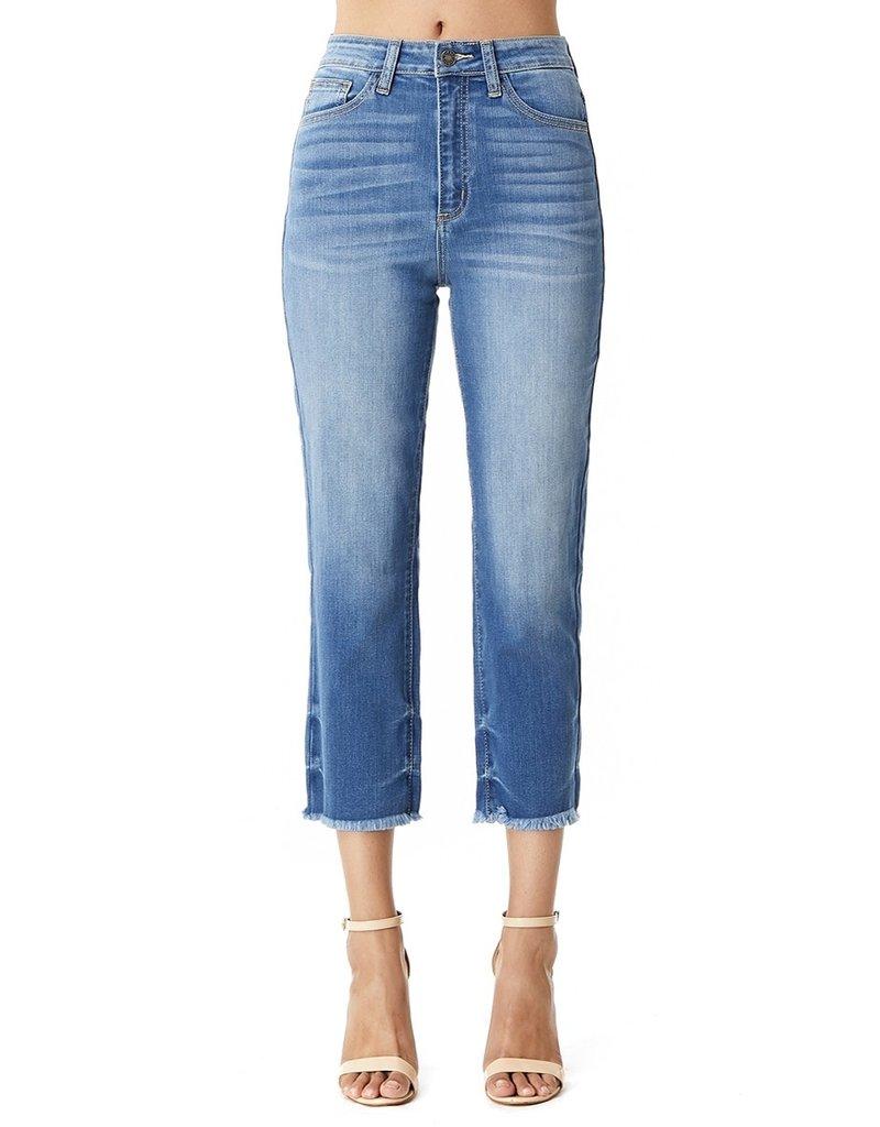 The Aria High Rise Straight Leg Jeans