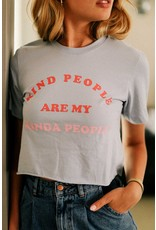 The Kind People Cropped Graphic Tee