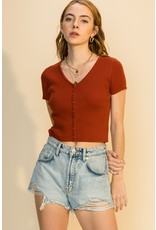 The Time Not Wasted Crop Top