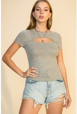 The Carson Cut Out Top