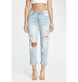 The Izzy Distressed Boyfriend Jeans