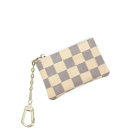 The Brooklyn Check Key Pouch