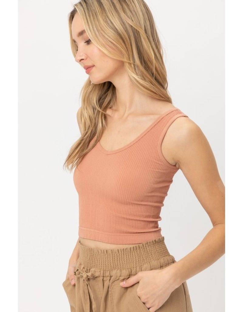 The Heidi Ribbed Crop Top