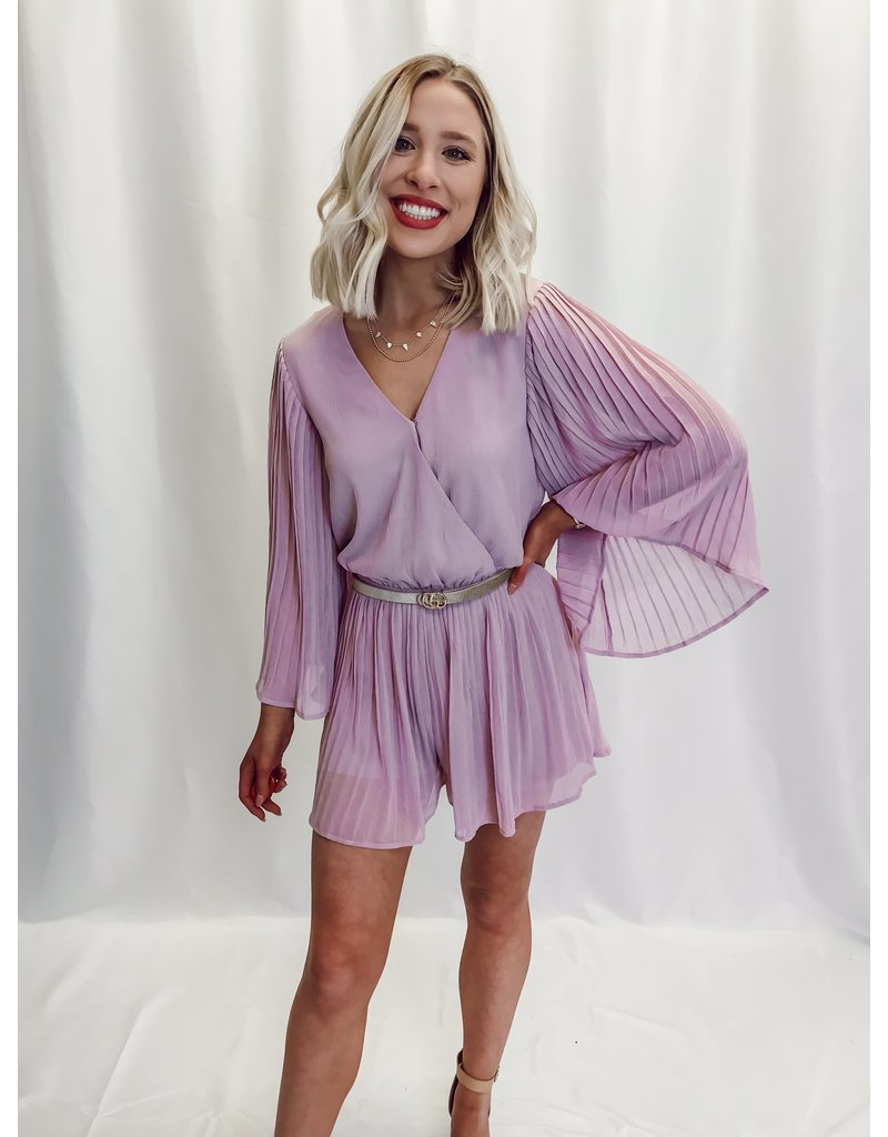 The You Found My Heart Pleated Romper