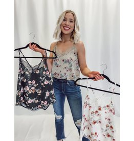 The Posy Floral Lace Cami