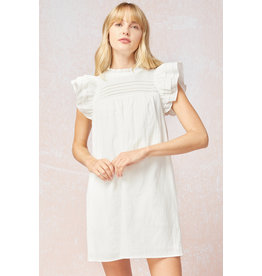 The Katie Ruffled Sleeve Dress