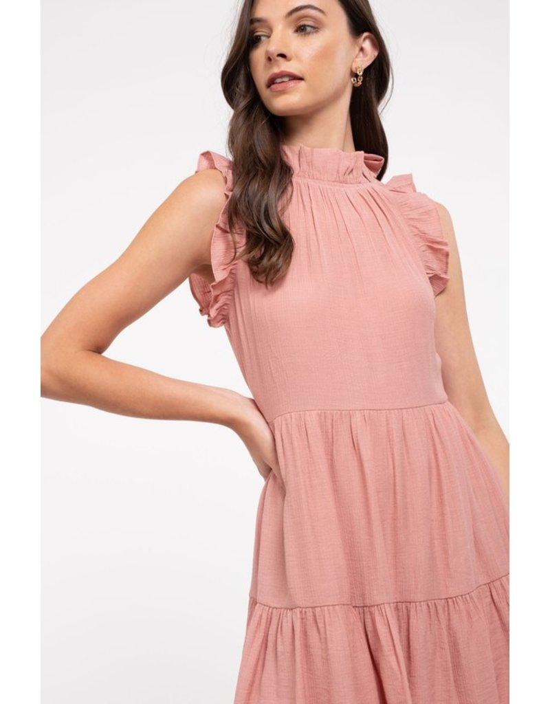 The Emery Ruffled Dress