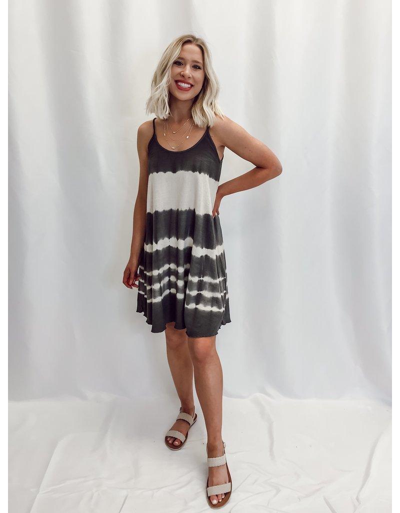 The Paulina Dip Dyed Linen Dress