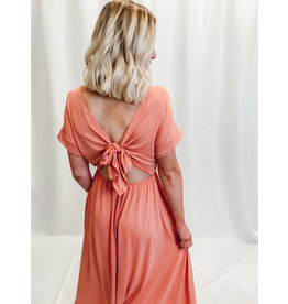 The Mallory Open Back Maxi Dress