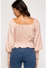 The Officially Obsessed Square Neck Top