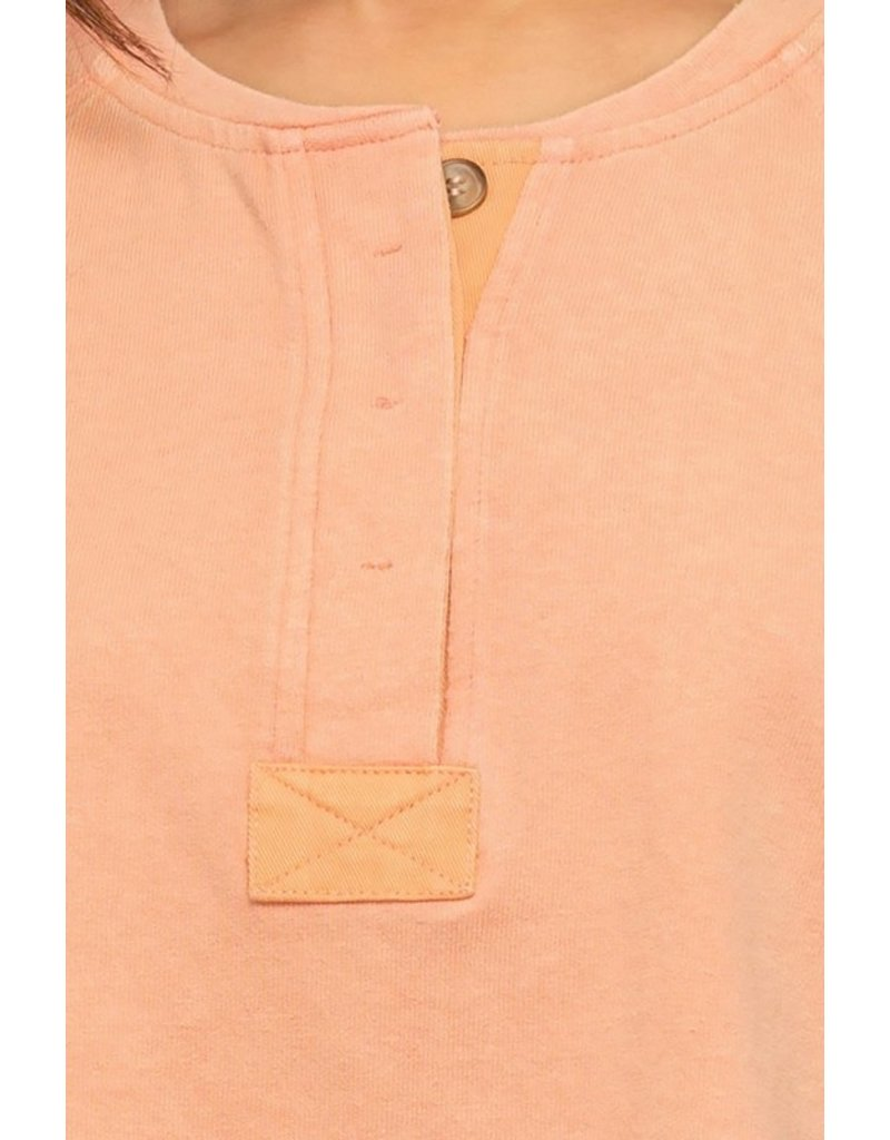 The Here For It Henley Tee