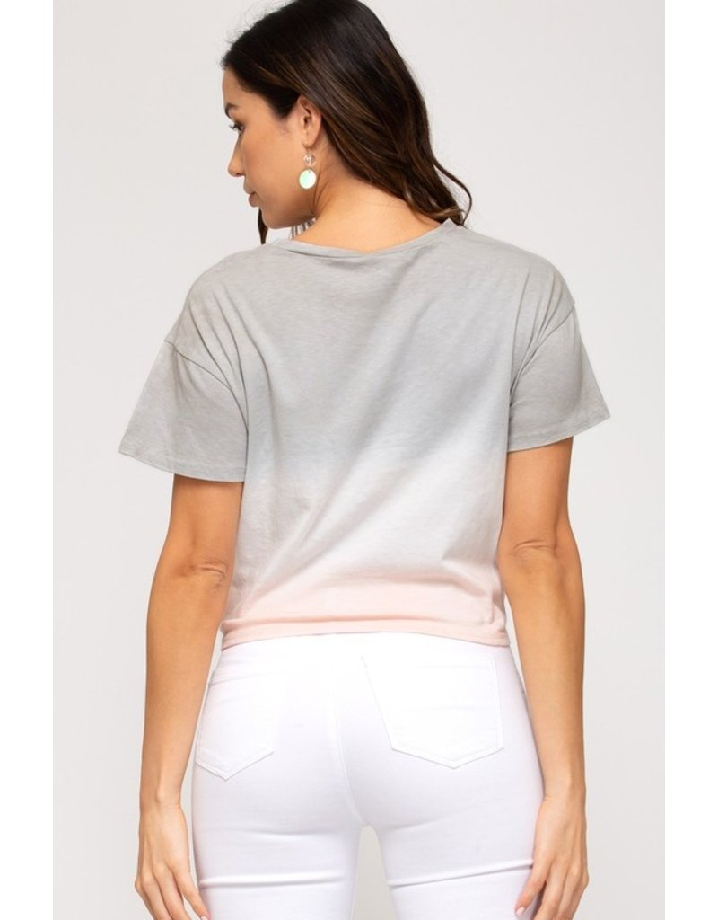 The Cool In Cali Ombre Tee