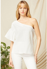 The Ready For Anything One Shoulder Top