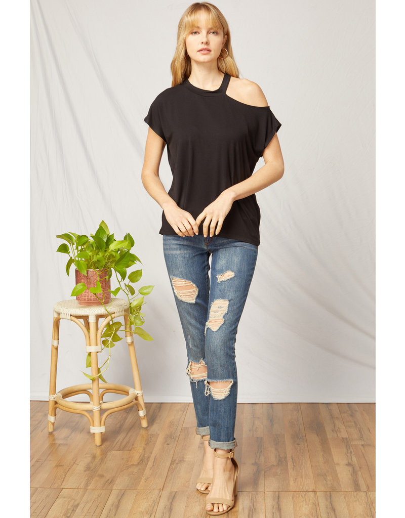 The You Are Loved Cold Shoulder Top