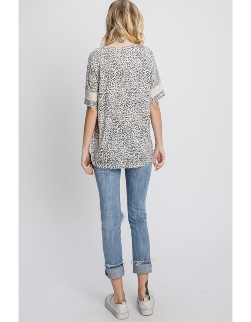 The Ryder Leopard Print Top