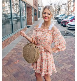 The Jacey Off The Shoulder Floral Dress