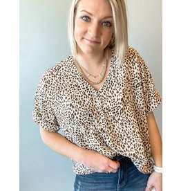 The At A Glance Leopard Blouse