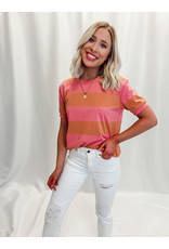 The Life In Color Striped Tee