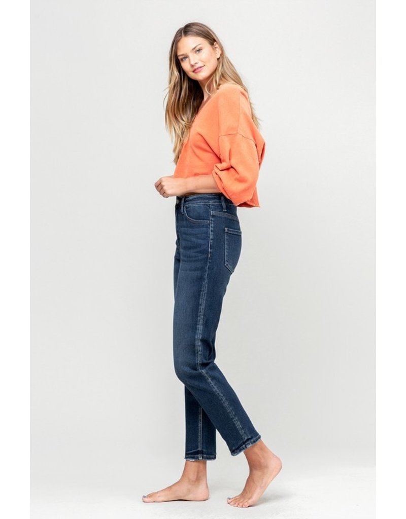 The Central High Rise Mom Jeans