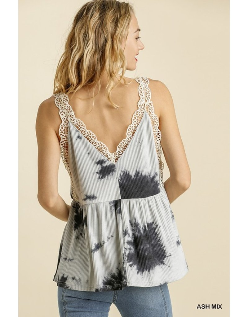 The Molly Tie Dye Babydoll Top