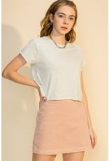 The Gracie Cropped Tee