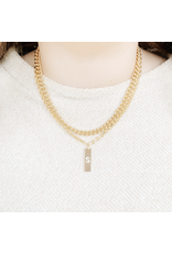 Wrapped. By Sav Gold Filled Chain Necklace