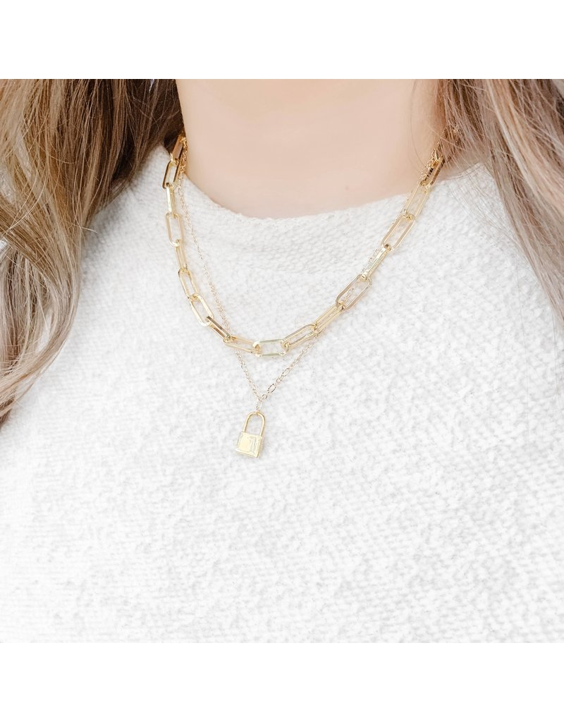 Wrapped. By Sav Gold Filled Link Necklace