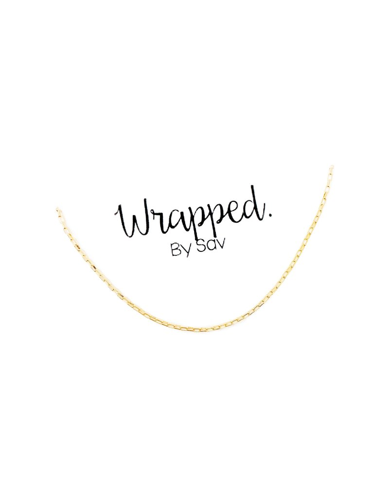 Wrapped. By Sav Link Choker Necklace