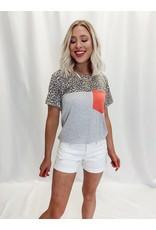 The High Temp Denim Shorts - White