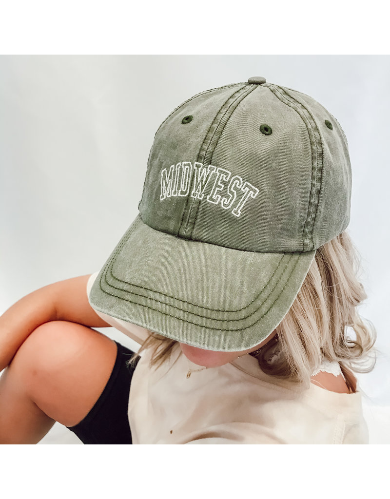 The Midwest Vintage Baseball Hat