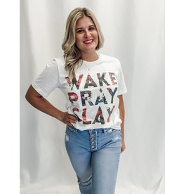 The Wake Pray Slay Graphic Tee
