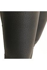 The Khloe Faux Leather Foiled Leggings