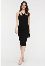 The Perfectly Glam Cut Out Midi Dress