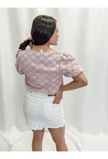 The Queen Of Hearts Puff Sleeve Blouse