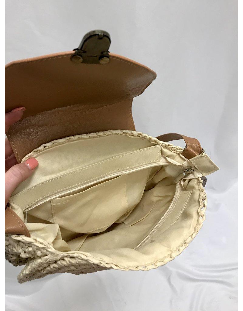 The Camryn Crossbody Straw Bag