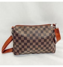 The Caroline Check Crossbody Bag