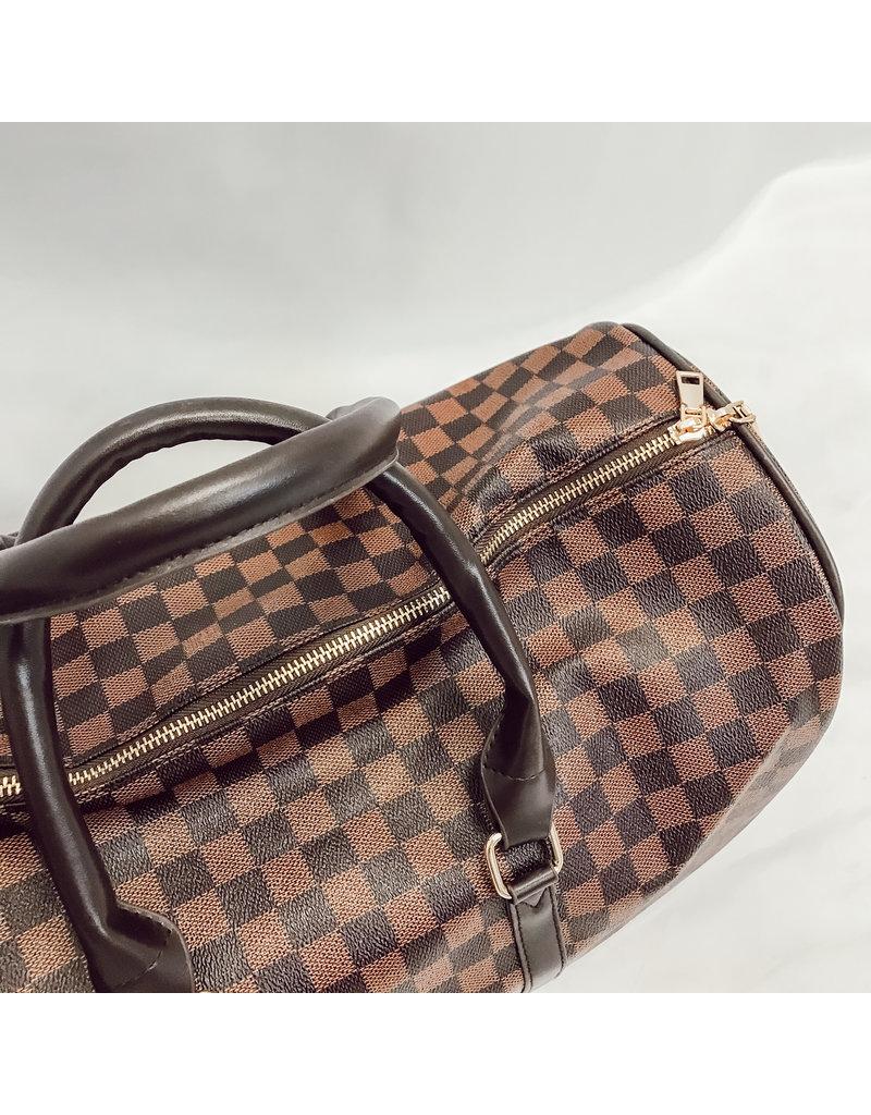 The Brooklyn Check Keepall Weekender Bag
