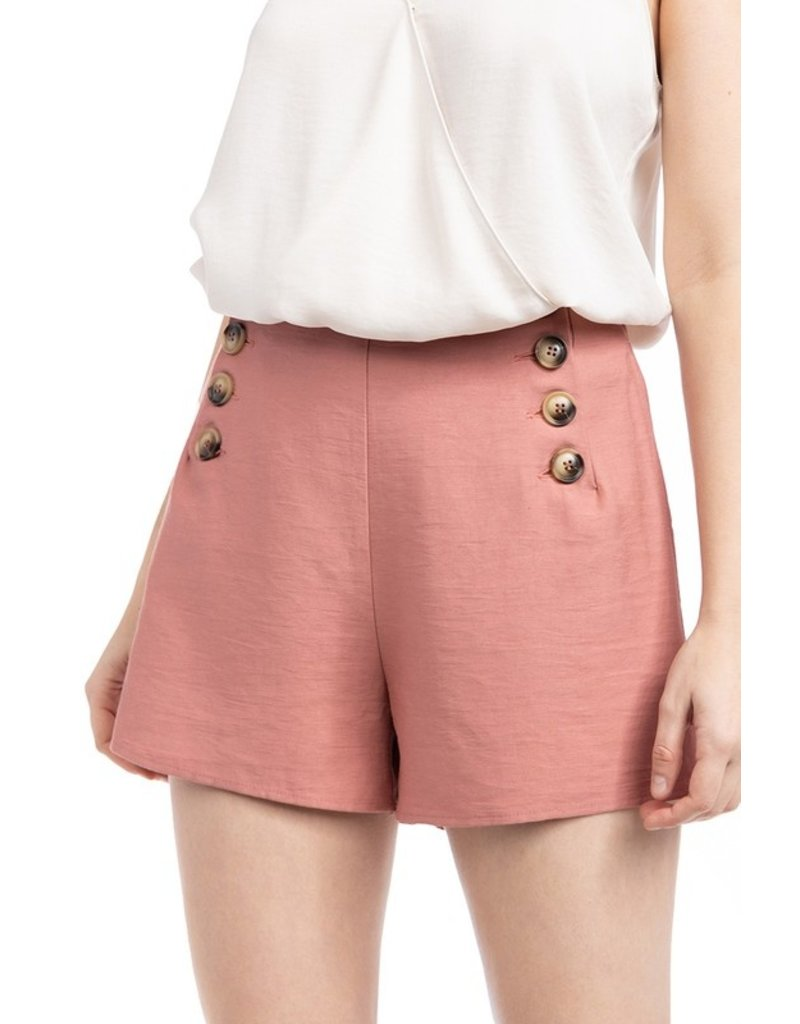 The Ibiza Button Front Shorts