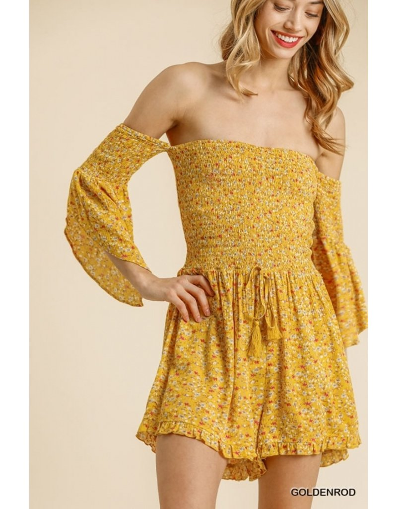 The Light Of My Life Floral Romper