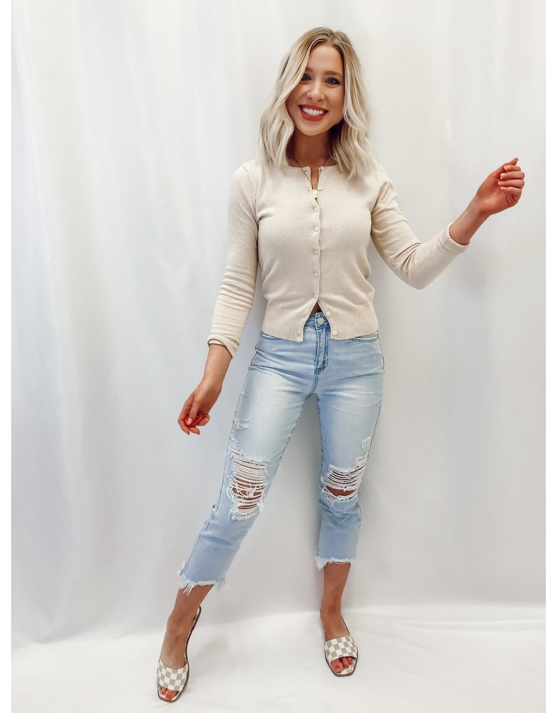 The Alexa Distressed Boyfriend Jeans