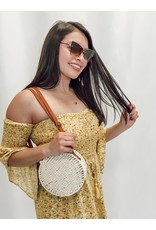 The An Exotic Escape Crossbody Straw Purse