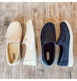 The Maya Leopard Sneaker Slide