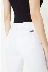 The Miss High Rise Ankle Skinny - White