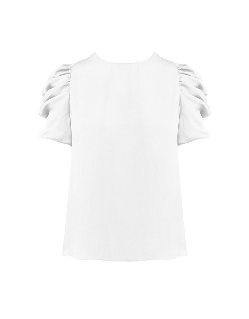 The Sierra Draped Sleeve Top