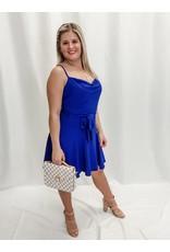 The Meg Cowl Neck Dress
