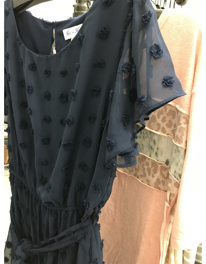 The Haley Swiss Dot Dress