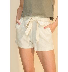 The Tiki Paper Bag Waist Shorts